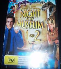Night At The Museum 1 & 2 (Ben Stiller) (Australia Region 4) DVD – New