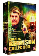 "CHARLES BRONSON MOVIE COLLECTION 4 DISC DVD BOX SET ""NEW&SEALED"""