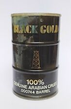 BLACK GOLD 100% GENUINE ARABIAN CRUDE OIL BARREL Vintage Rare