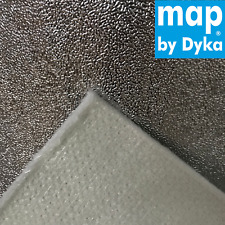 Hitzeschutzfolie Hitzematte Hitzeplatte selbstklebend Kfz 24x24 cm - 4 mm 950°C