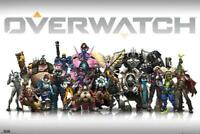 Overwatch : Characters Centred - Maxi Poster 91.5cm x 61cm new and sealed