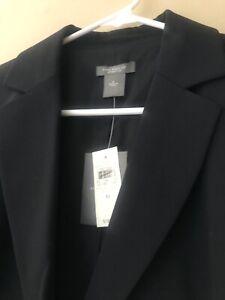 NWT Ann Taylor Size 6 Black Blazer