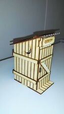Country Outhouse 1:24 Scale Dollhouse