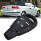 Car 4 Button Remote Key Fob Shell Case+Key Blank for SAAB 9-3 93 2003-2009 New