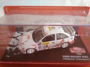 COCHE 1/43, ALTAYA, MODELO FORD ESCORT WRC  RALLY MONTE CARLO  1999