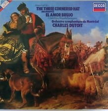 FALLA-Three Cornered Hat-LP-MONTREAL S-O Charles Dutoit-1983 Decca UK-SXDL7560