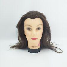 Deluxe Debra Manikin Cosmetology Mannequin Head Real Human Hair Burmax
