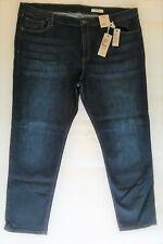 Ladies Jeans Marks & Spencer Stretch Blue Size 24 EU52 M&S Slim Fit Regular BNWT