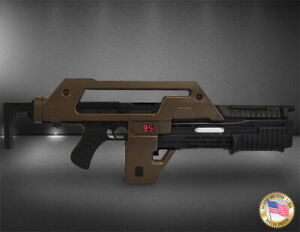 Aliens Pulse Rifle Brown Bess 1/1 Scale Prop Replica LIMITED EDITION 01AHC07