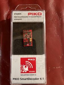 Piko SmartDecoder 4.1 Sound PluX22, unbespielt oder mit Wunschprojekt