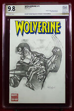 VENOMIZED WOLVERINE #1 PGX (not CGC) 9.8 NM Sketch Cover by ARNOLD TRINIDAD!!!