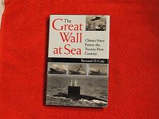 "Bernard D. Cole Signed book ""The Great Wall at Sea"" 1st Ed Hc/Dj New Coa"