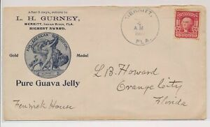 LO07770 USA 1907 nice cover with good cancels used
