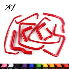Silicone Radiator Coolant Hose Red Fit for Peugeot 205 1.6L 1.9L / 309 GTI 8V