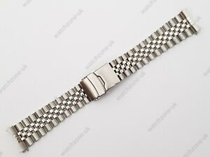 NEW 22MM DIVERS JUBILEE STAINLESS STEEL WATCH STRAP/BRACELET FOR SEIKO (SE-11)