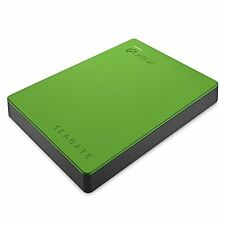 Seagate Game External Drive for Xbox One and Xbox 360 2TB Storage Green Portable