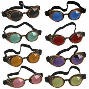 LZ Welding Cyber Goggles Victorian Vintage Steam Punk Goggles Cosplay Party Club