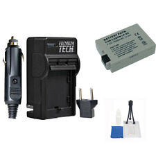 LP-E8 Battery with Charger + 5 Pc Accessory Kit for Canon T2i T3i, T4i, T5i LPE8