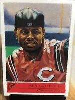 2001 Topps Gallery Baseball - #24 - Ken Griffey Jr. - Cincinnati Reds.