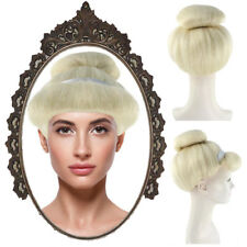Women Party Cosplay Wig Blonde Buns Styled Cosplay Princess Cinderella HW-2158