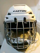 Easton E400 Hockey Helmet Small White With E500Fm Sp Face Mask
