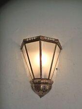 applique murale Marocaine fer forgé lampe lustre B1 lanterne sablé 30 cm