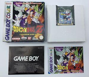 Dragon Ball Z I Leggendari Super Guerrieri Game Boy Color GameBoy Completo ITA