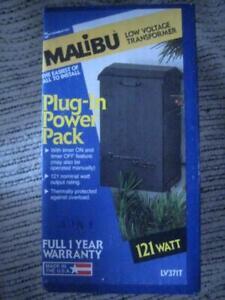 NEW Malibu Intermatic Timer LV371T Low Voltage Transformer LV100 Series Lighting