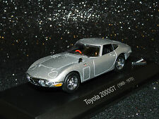 Kyosho Model Toyota 2000 GT Coupe Year 1969-1970 Silver 1 43