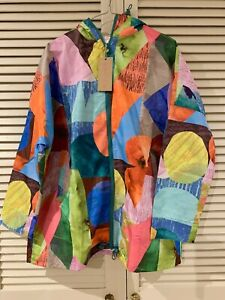 "New! Cute GORMAN ""Colour Drop"" raincoat coat jacket * size S/M"
