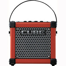 "Roland Micro Cube GXR 3W 1 x 5"" Battery-Powered DSP Effects Guitar Combo Amp Red"