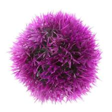 1pc 12cm Artificial Topiary House Plants Ball Pool Patio Garden Porch Purple