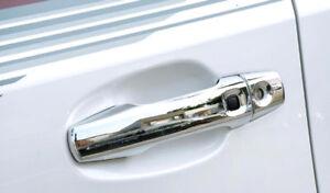 For Toyota Land Cruiser J200 2008-2015 Door Handle Cover Trim 4*Smart Key Holes