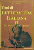 Temi di letteratura italiana II