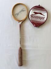 Vintage Slazenger Squash Racket 'The Dart' with Head Case