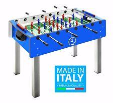 Calciobalilla FAS PRO ITALY BLU Biliardino Calcetto Bigliardino + SPRAY+PALLINE