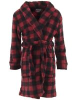 Only Boys Boy/'s Red Black Coat-Style Pajamas