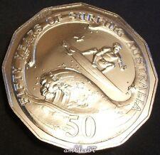"** 2013 Australian ""Surfing Australia"" 50cent UNC**"