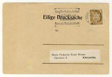 DR - ORTSWERBEDRUCKSACHE aus DRESDEN mit Nr. 355Y gepr. - ANSEHEN (11920/389N)