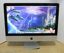 "Apple iMac A1311 21.5"" 2.7GHz i5-2500S 8GB RAM 1TB HD OS 10.13 CRACKED TOP GLASS"
