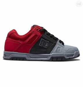 DC Shoes Stag Black Red Grey