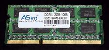 SSZ3128M8-EAEEF ASint 2GB 2Rx8 Memory RAM DDR3 1066MHz PC3-8500 GENUINE