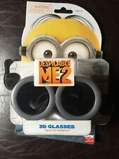 Despicable Me 2 MINIONS Look 3D Movie Glasses Eyewear