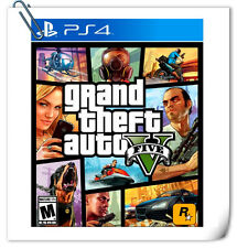 PS4 Grand Theft Auto 5 GTA V ENG / 俠盜獵車手5 中英文版 SONY Action Rockstar Games