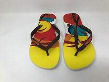 New! Men's Havaianas Tom Veiga Thong Flip-Flops SZ 13 Multicolor J40