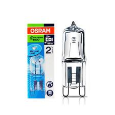 Osram 33w = 40w G9 Halopin ECO Dimmable Energy Saving Halogen Capsule Bulb- 240v