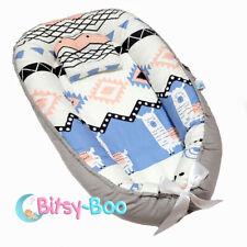 Bitsy-Boo Newborn Portable Bed Nest Crib Lounger Baby Sleeper Bassinet Lama