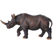 Endangered Rhino Rhinoceros Wild Animal Lover Collectible Figurine Statue