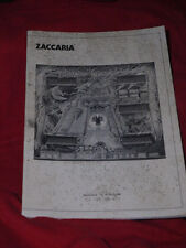 Pinball  Magic Castle  Original Manual Zaccaria Flipper rare