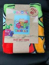 "New Ugly Dolls 40"" x 50"" Super Soft Silk Touch Throw, Kid's Bedding"